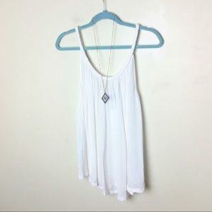Topshop Braided Swing Tank NWOT